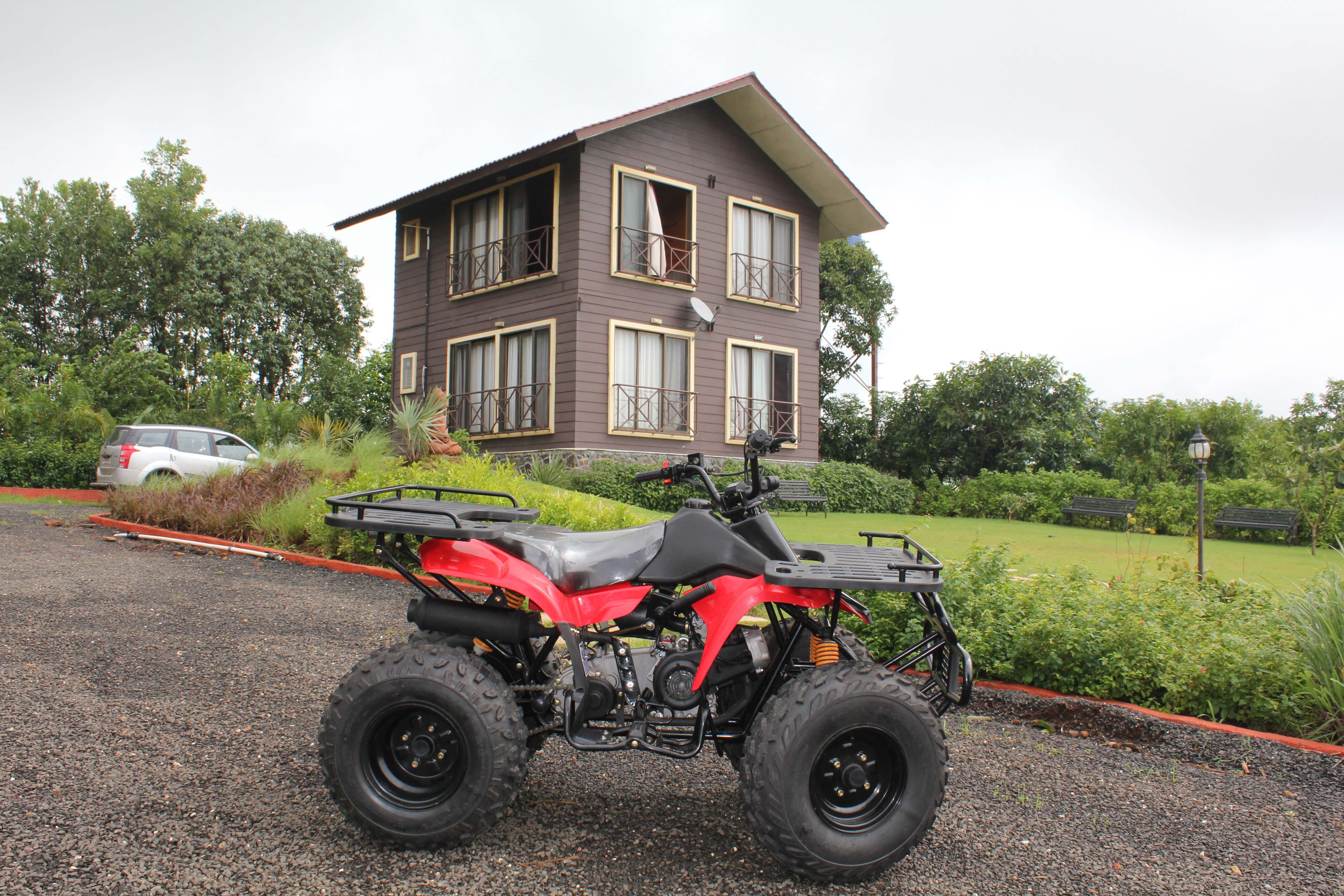 ATV with the Swiss Chalet